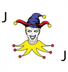 2008123 joker vector image vector image