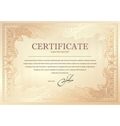 Certificate 3 vector