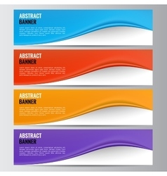 Abstract banner business background vector image vector image