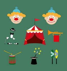 Attributes of the circus vector