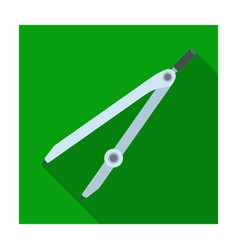 compasses for drawing school compass for drawing vector image