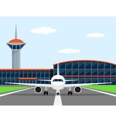 plane vector image vector image
