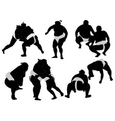 Sumo wrestlers vs vector