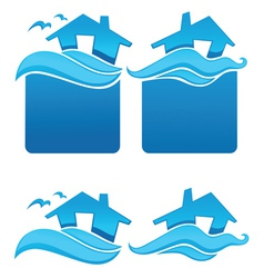 water home vector image