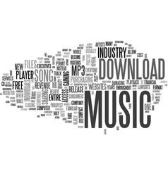 What you should know before you download music vector