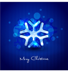 Snow flake design vector