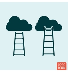 Career icon isolated vector