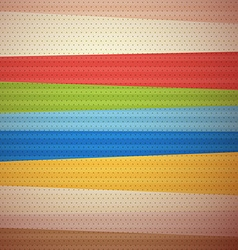 Retro Material Design Background vector image vector image