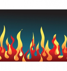 2008598 flames vector image
