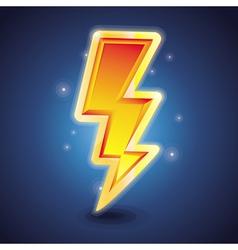 Lightning symbol vector