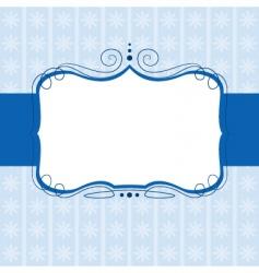 swirl banner vector image vector image