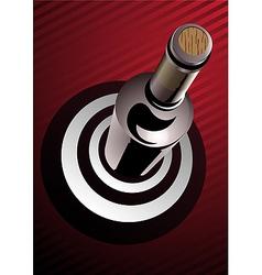 target wine vector image