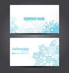 Simple and clean business template vector