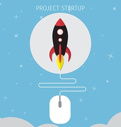 Business concept for project startup vector
