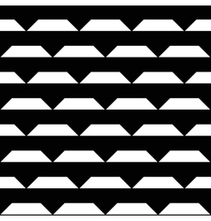Abstract white black triangle stripes vector