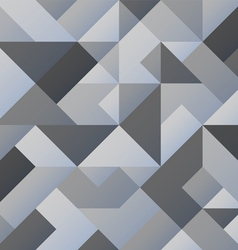 Grey geometric background vector