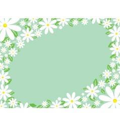 Daisy border vector