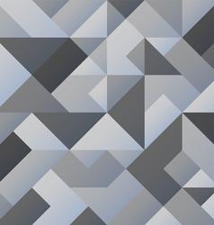 Grey geometric background vector