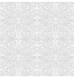 Set of seamless patterns with traditional ornament vector
