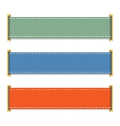 Horizontal banners vector