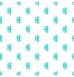 CD box pattern cartoon style vector image