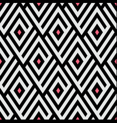 Maze pattern with pink dots vector