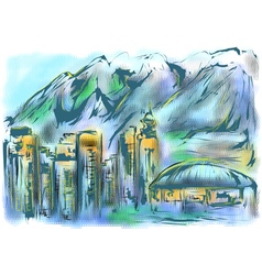 vancouver vector image
