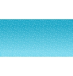 the rain background vector image