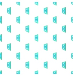 Cd box pattern cartoon style vector