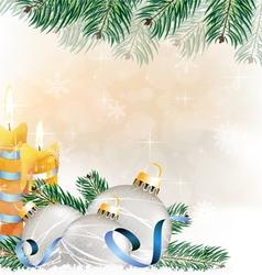 Festive glitter christmas background vector