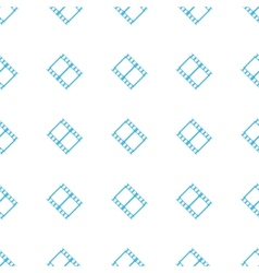 Unique film seamless pattern vector