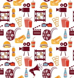 Cinema pattern resize vector