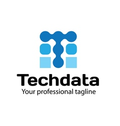 Techdata design vector
