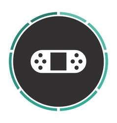 Game console computer symbol vector