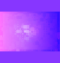Blue purple gradient glowing various tiles vector