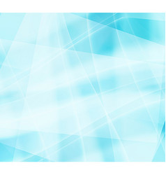 Ice patterns with a blue twist vector