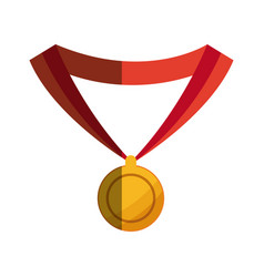 medal award winner sport design graphic vector image