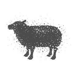 Isolated lamb animal design vector