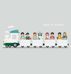 railway children vector image