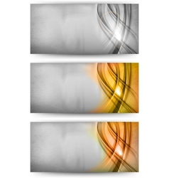 abstract card silver gold bronze vector image