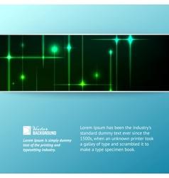 Glitter stars vector image vector image