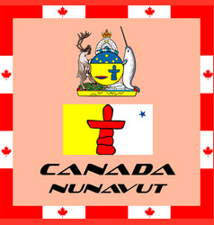 official government elements of canada - canada vector image