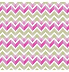 Watercolor zigzag pattern vector
