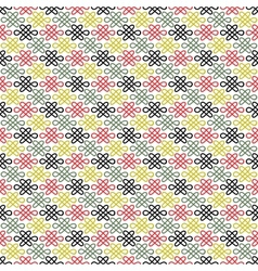 Floral chinese seamless pattern vector