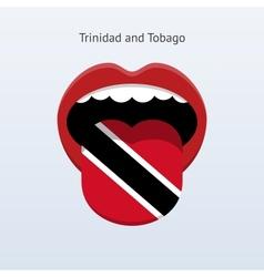Trinidad and tobago language vector