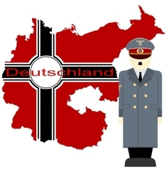 Hitler and germany vector