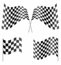 sport flags vector image