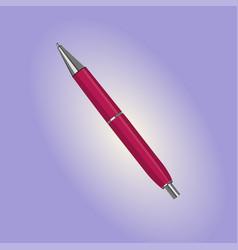 A ballpoint pen vector