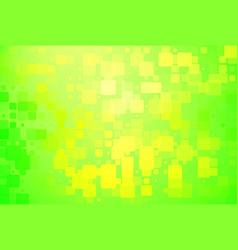 Green and yellow shades glowing various tiles vector