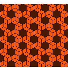 Seamless Geometric Box Pattern vector image vector image